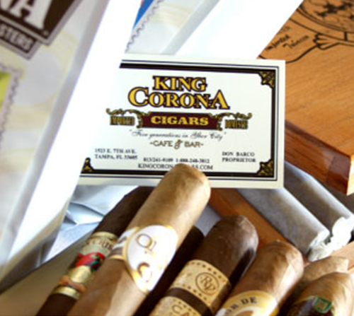 Photo of King Corona Cigars