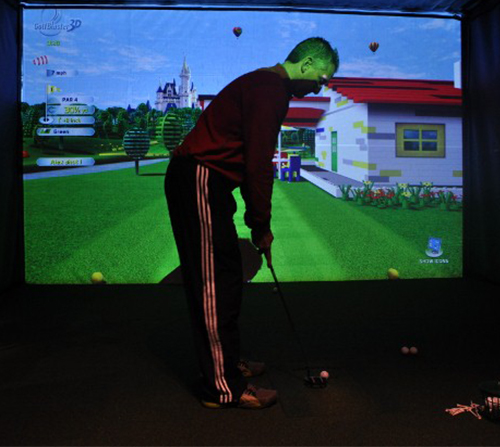 Photo of Indoor Junior Golf Camp Discount at Golfer's Grail Indoor Golf & Tap