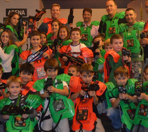 Photo of Buy One Get One at Q-Zar Laser Tag Center