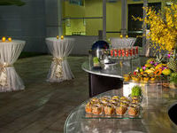 Poolside Reception Crowne Plaza Hotel Tampa